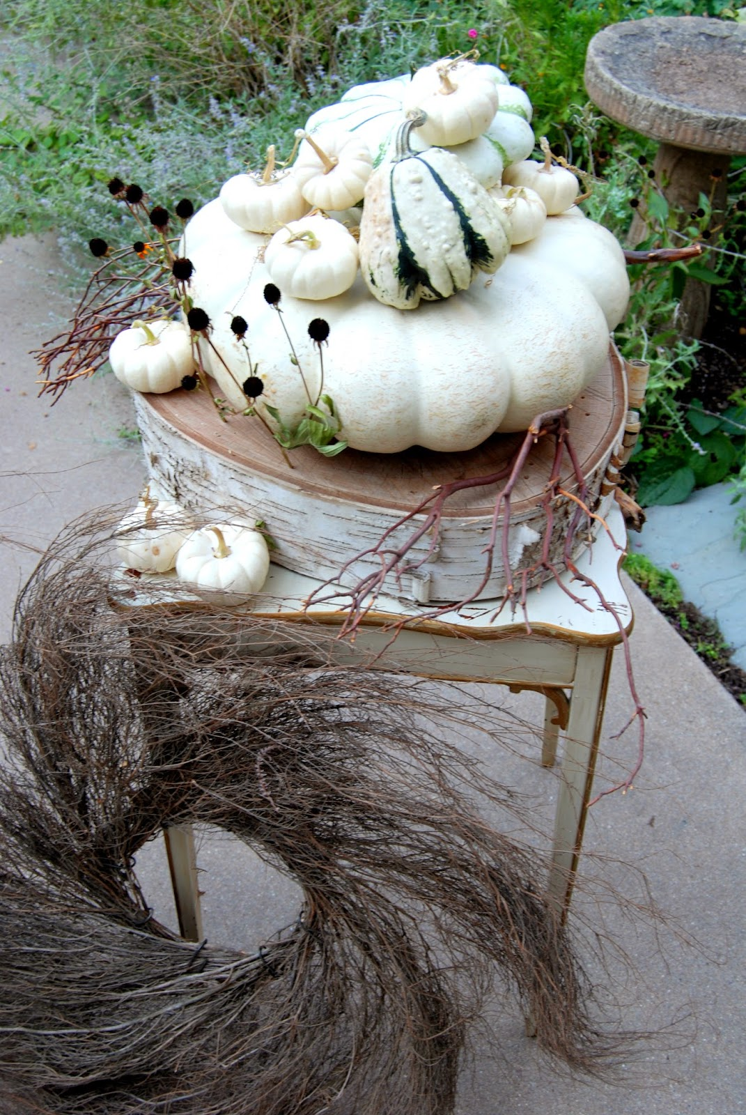 Ghostly White Pumpkins 5
