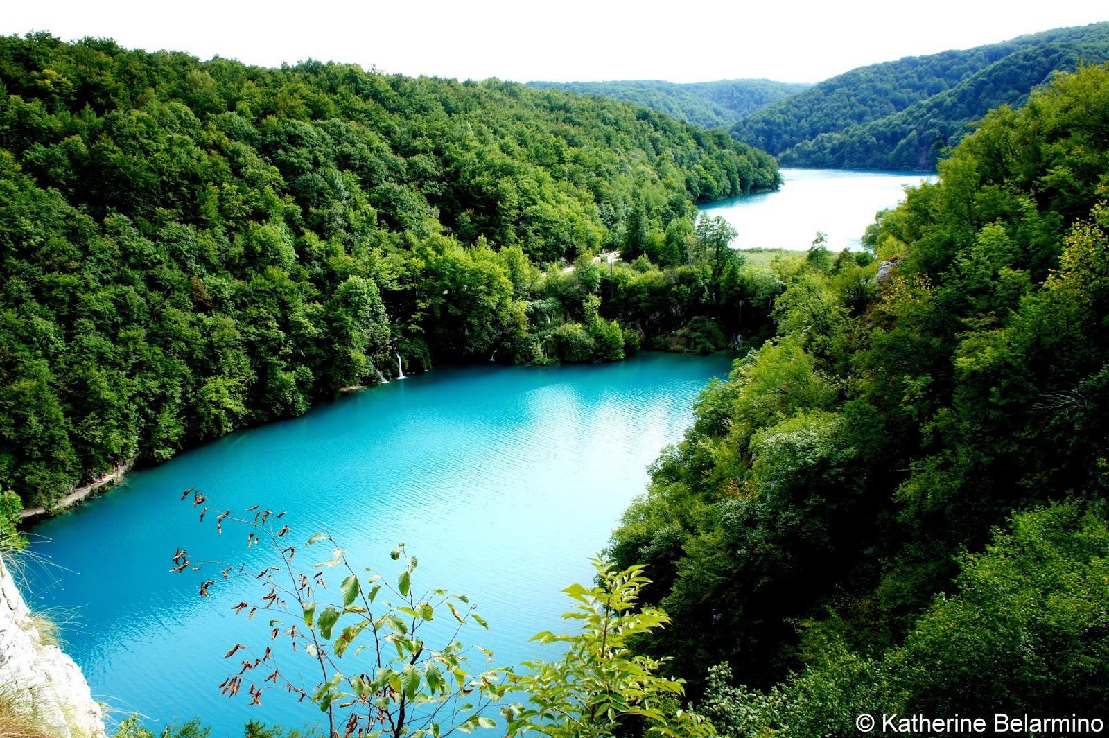 Croatia's Plitvicka Jezera (Plitvice Lakes) National Park ...