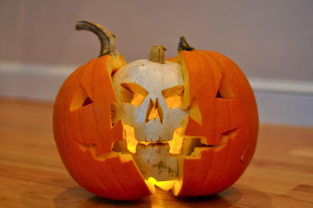 pumpkin skull ora pumpkin inside a pumpkin! | artisticinsurrection
