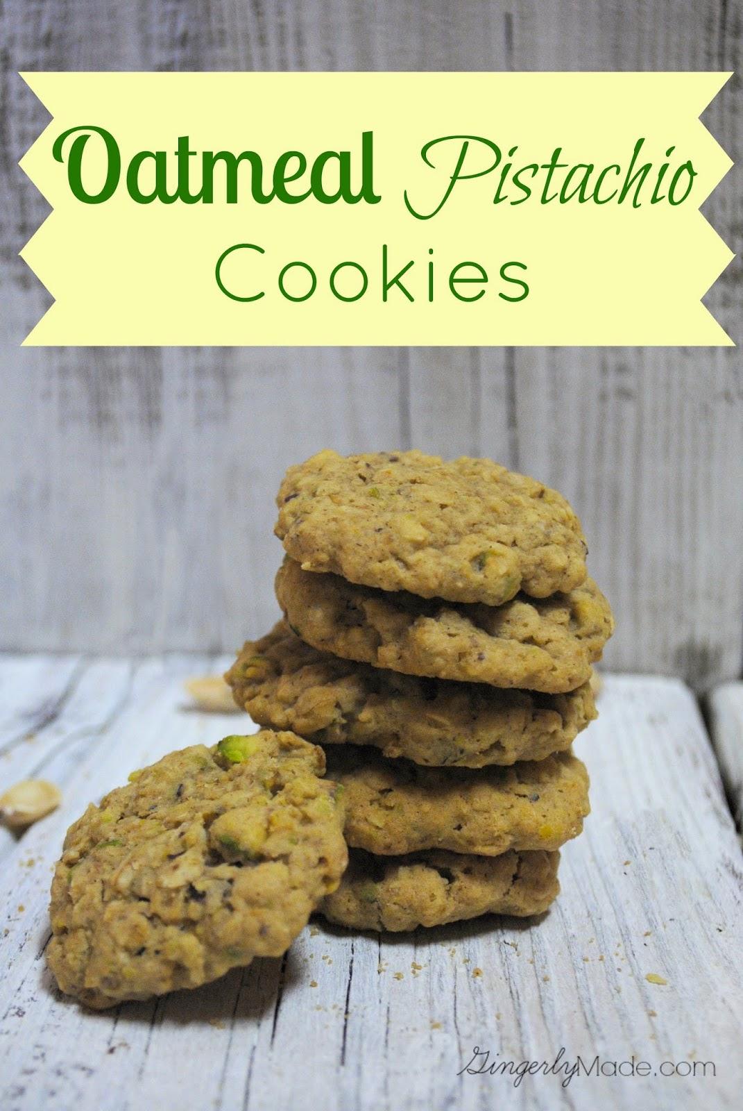 Oatmeal Pistachio Cookie