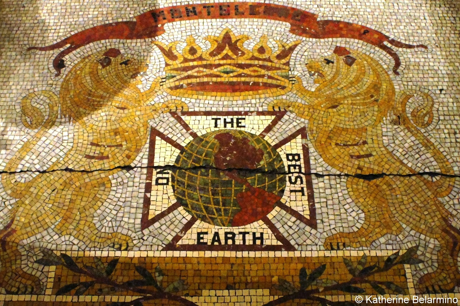 Monteleone Mosaic New Orleans