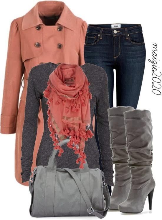 Winter dress combination