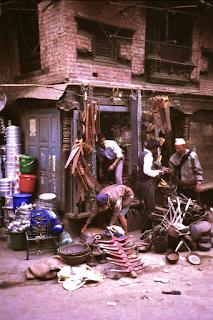 Geschäft mit Haushaltswaren in Kathmandu