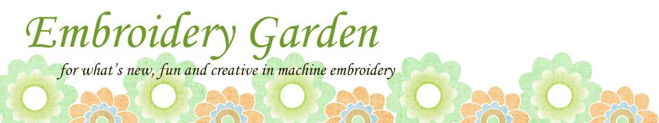 Embroidery Garden September 2013