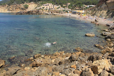 Cala Xarraca beach in Ibiza