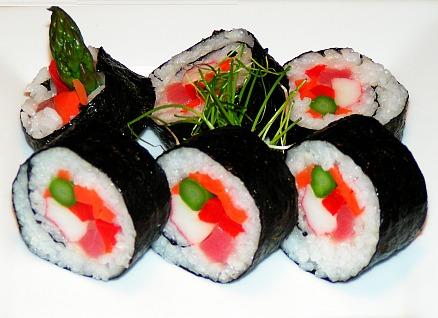 Gambar sushi Roll