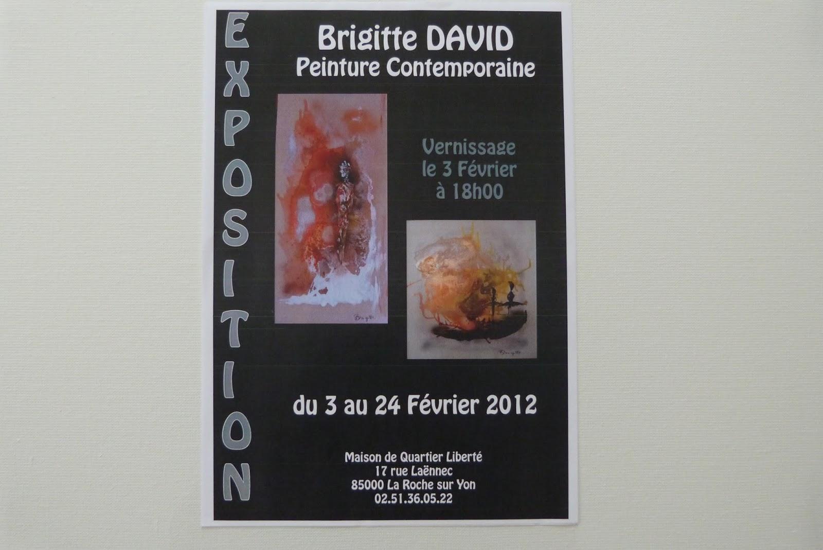 Brigitte David Peinture Contemporaine Articles De