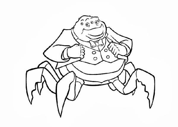 Boo From Monsters Inc Coloring Pages