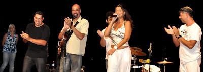 Evento produzido pela Boutique da Música, no SESC São Gonçalo, em homenagem a Cazuza e Renato Russo