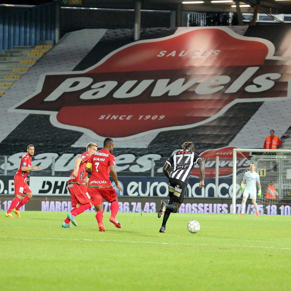 Pauwels Sauzen sponsort Charleroi