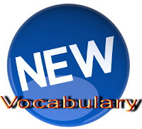 new vocabulary, vocabulary
