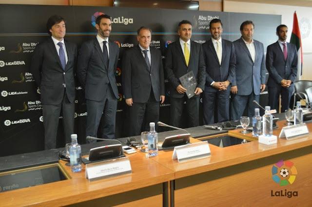 La Liga lleva el fútbol español a Abu Dhabi