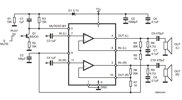 amplifiercircuits com  tda7269