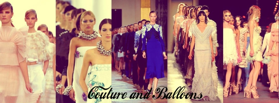Couture and Balloons