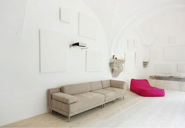 un interiorismo singular en un edificio del siglo XIX