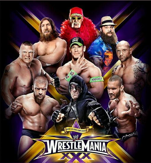 WWE WrestleMania 30 Live Stream percuma Masa bermula dan perlawanan matchcard Start Time and More for Massive Event