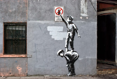 Banksy, New York, Graffiti