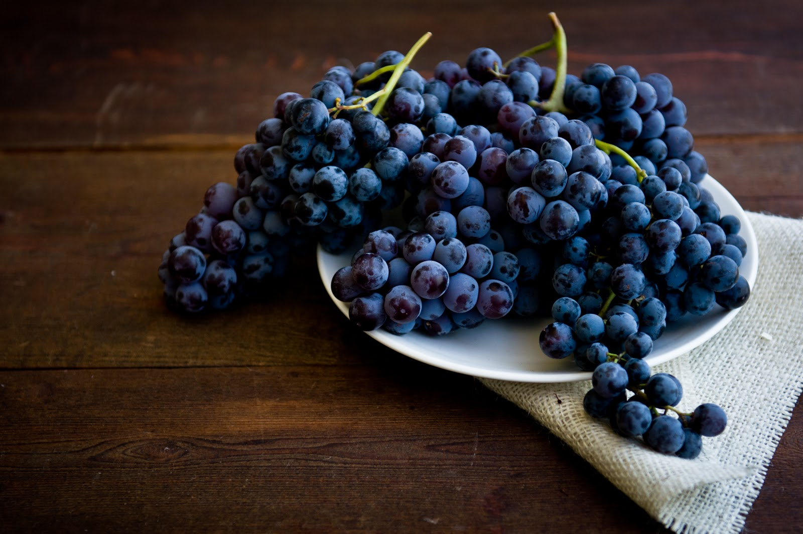 Desserts for Breakfast: Concord Grape Sorbet