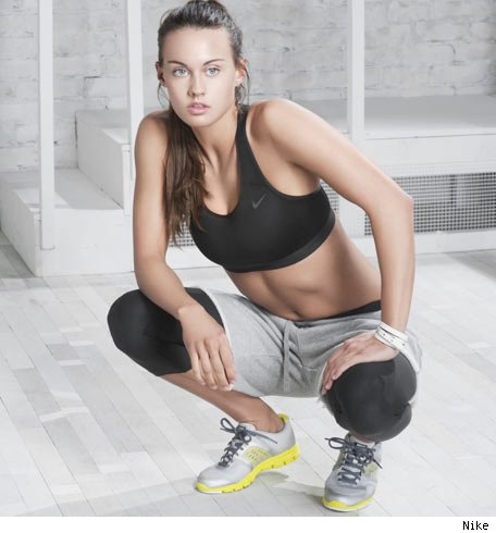 Nike Air Max Mujer Blancas Puestas