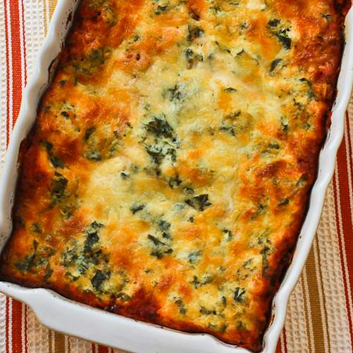 ®: Vegetarian Lasagna Recipe with Kale and Mushroom-Tomato Sauce ...