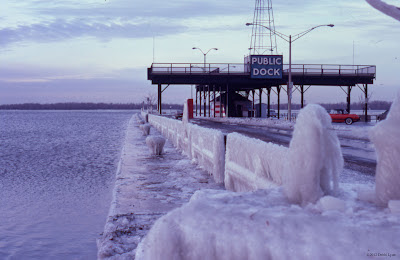 Its 1987 on the Erie, PA Bayfront! The Public Dock has