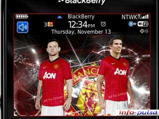 Manchester United - BlackBerry Theme