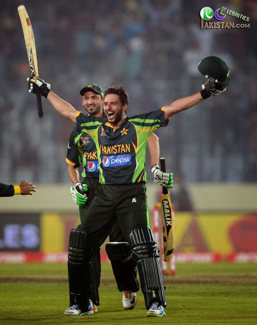 Shahid Afridi Sixes in Asia Cup 2014