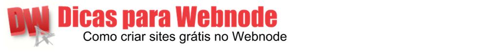 Dicas para Webnode - Widgets, SEO e Monetização