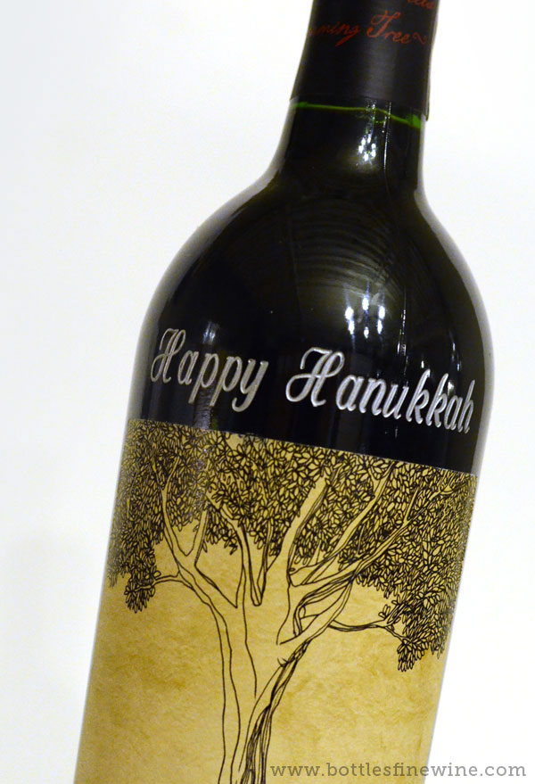 wine bottle engraving etching services