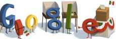 Elecciones México 2012: doodle de Google México