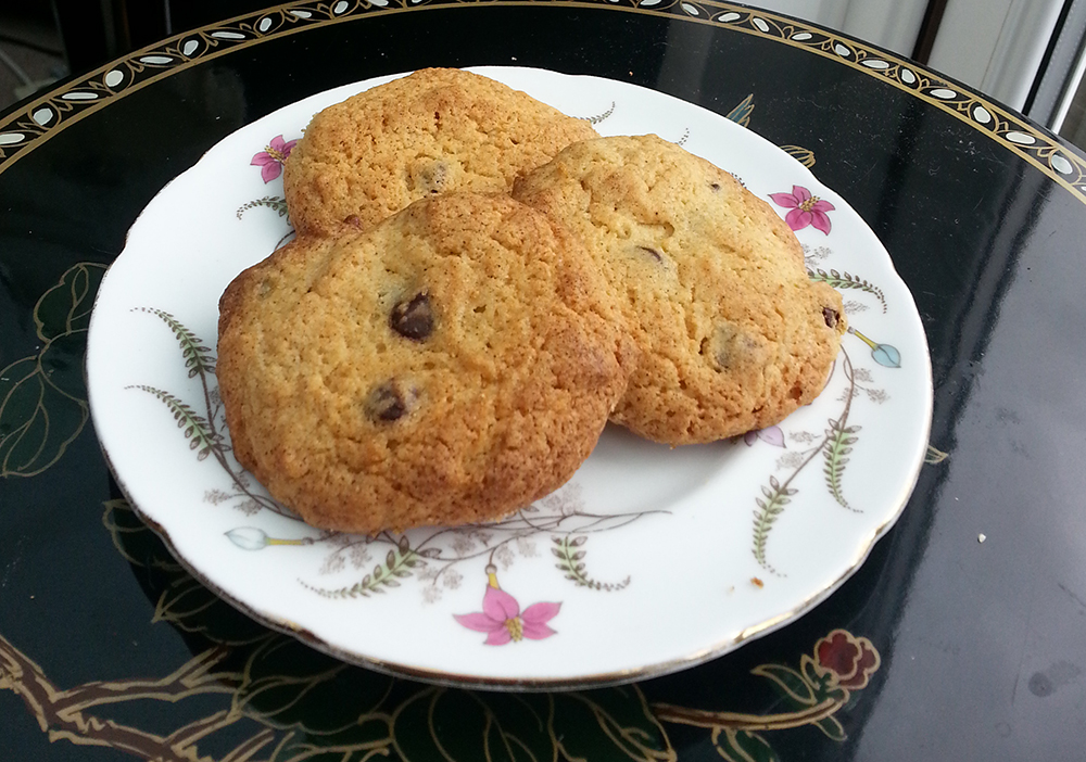Maple Syrup & Dark Chocolate Cookies