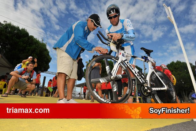 Trabajando en Ironman Brazil
