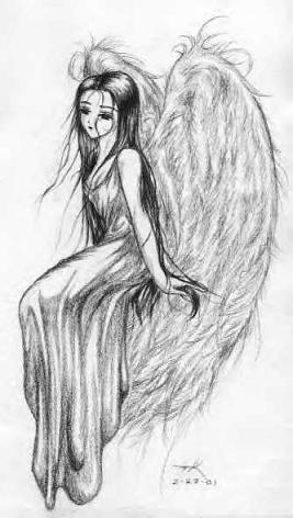 Картины ангелов с крыльями красивые