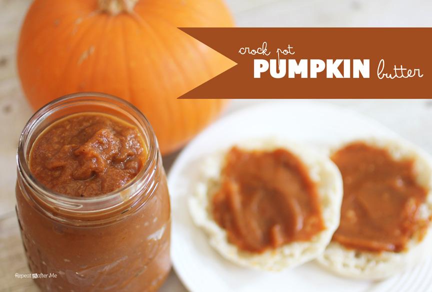 Repeat Crafter Me: Crock Pot Pumpkin Butter