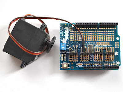Servo Shield conectores macho/fêmea