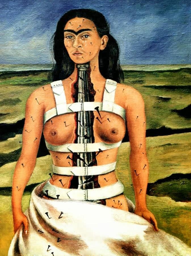 Frida Kahlo, la colonne brisée, 1944