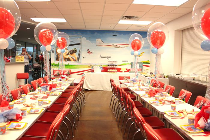 Brendens Airplane Birthday Dallas Event Coordinator Events By