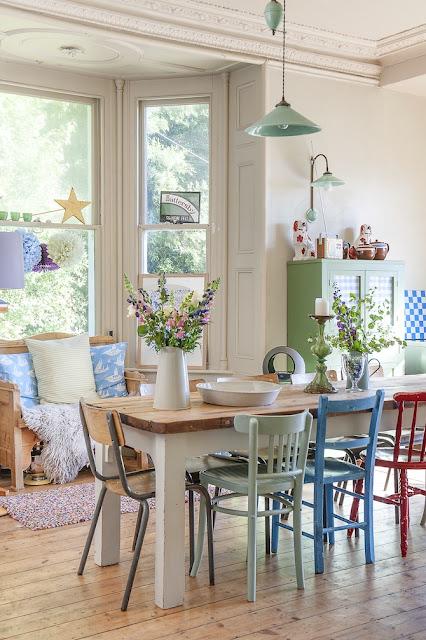 Deco Easy Inspirations: Maison dans la campagne Anglaise en couleurs ...