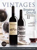 LCBO Wine Picks from September 27, 2014 VINTAGES Release