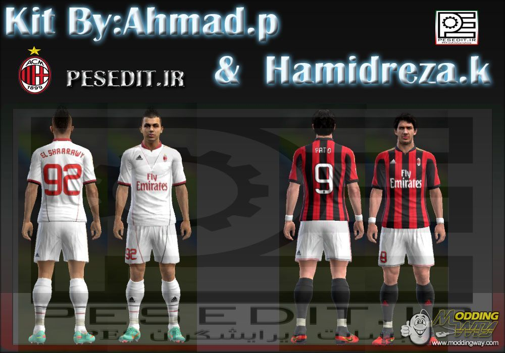 download kits ac milan 2013 14 pes 2013 zippyshare credit ahmad p