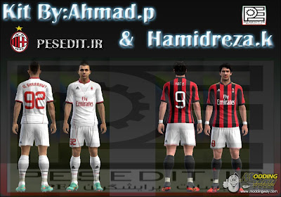 Download Kits AC Milan 2013/14 PES 2013