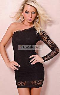 Vestidos de festa com renda preto