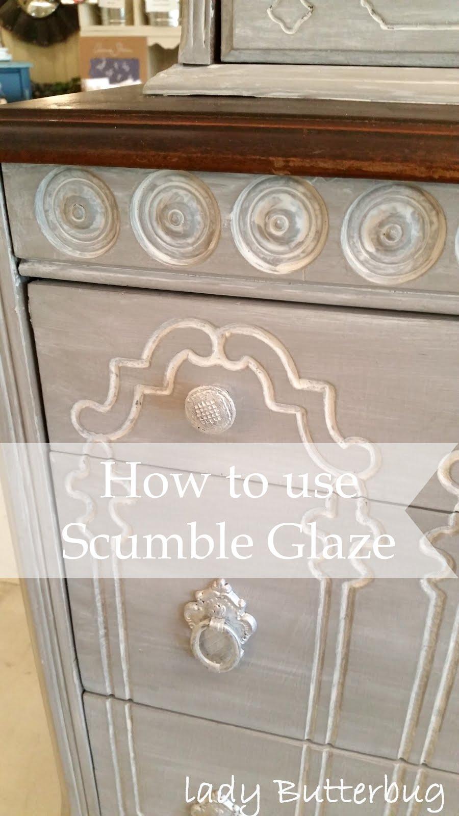 Scumble Glaze Dresser