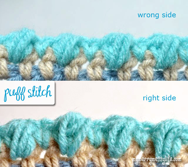 Crochet Stitches Right Side : Merry Crocheting! Drop me a comment if you have any questions or get ...