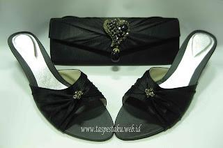 Clutch bag, sepatu pesta, online shop, sandal pesta