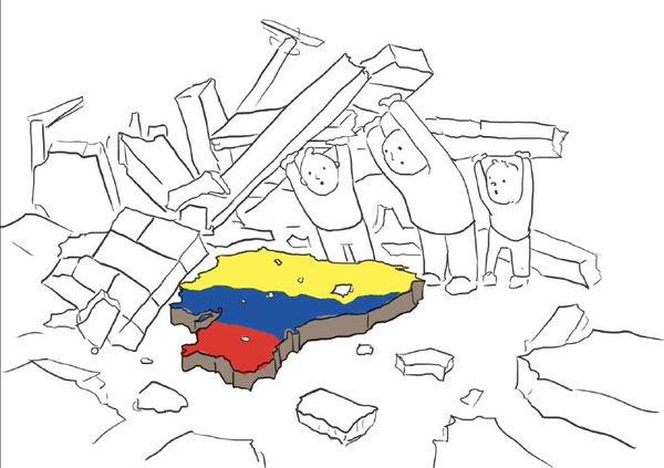 Necesitamos Tu Ayuda Ecuador se Levanta