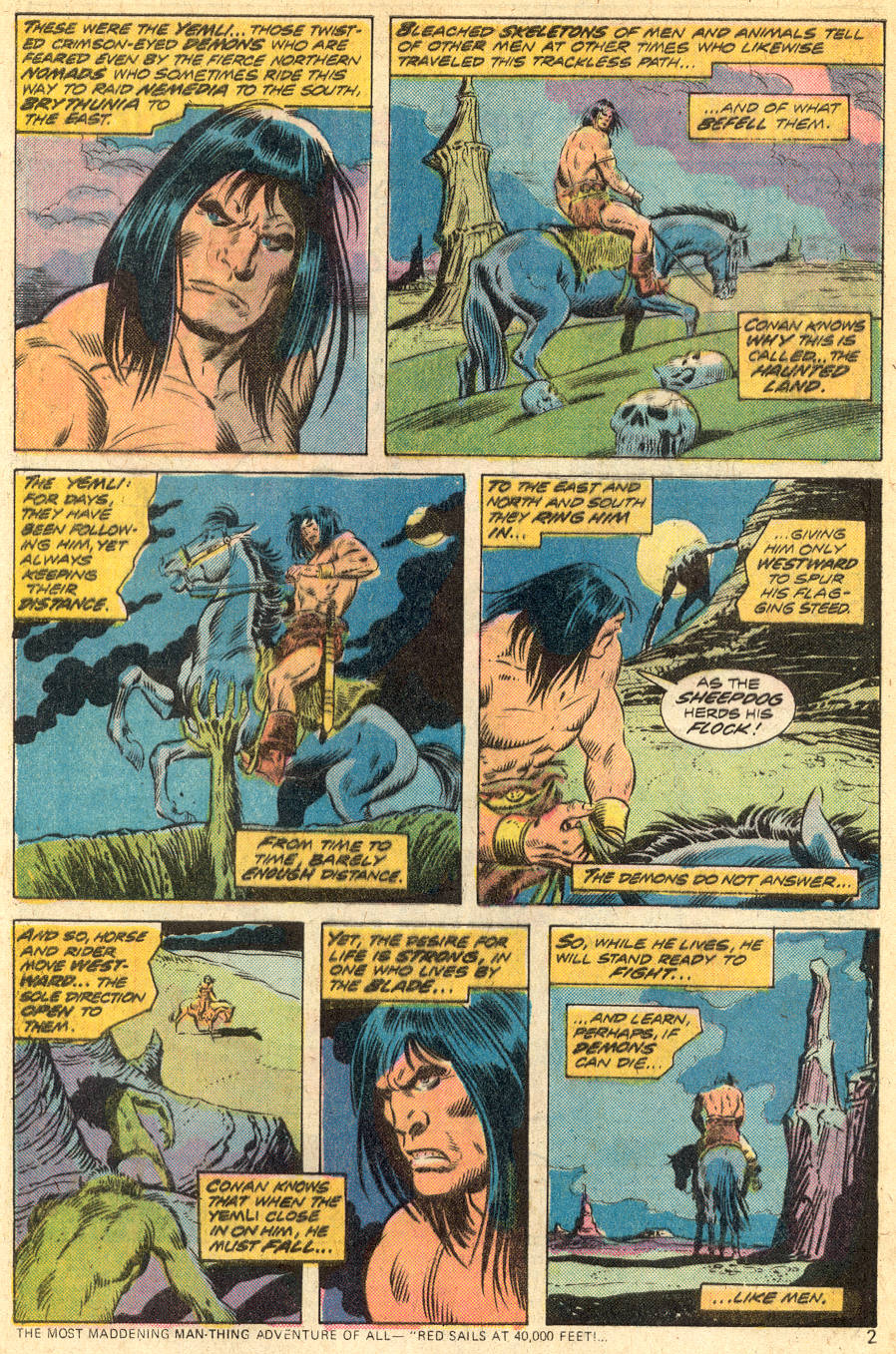 Conan the Barbarian (1970) Issue #46 #58 - English 3