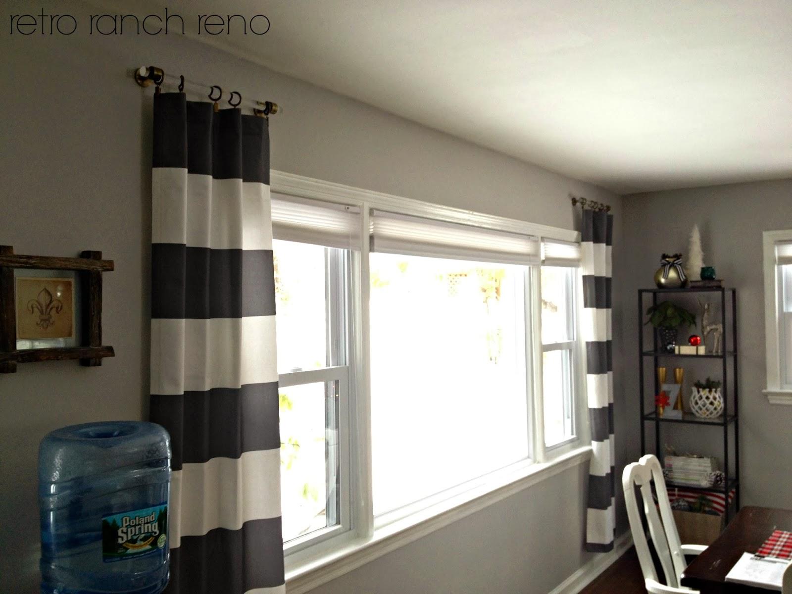 Retro Ranch Reno Lucite Curtain Rods Amp A Question