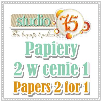 Papiery 2 w cenie 1