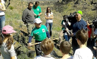Atresmedia y WWF Reforestan el Parque Nacional de Cabañeros